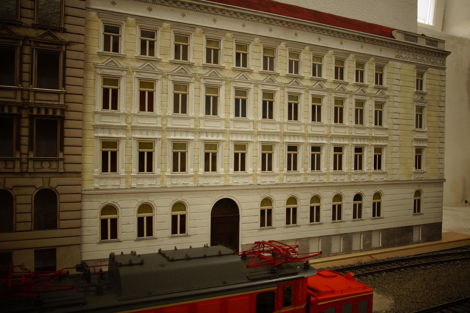 Grunderzeithaus In Wien 17 Bezirk Modellbauprofi Harry